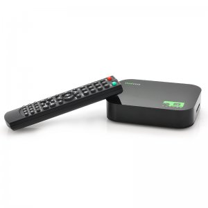 android TV box and a remote control