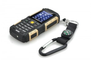Rugged waterproof phone-and pendant