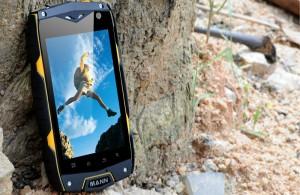 smartphone on the ground