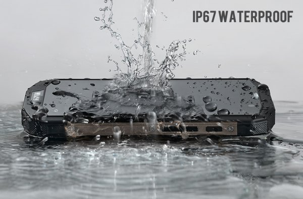 smartphone and a water pouring