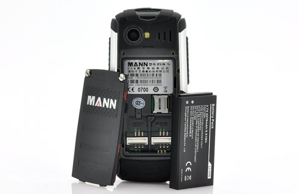 cell-phone with batteries