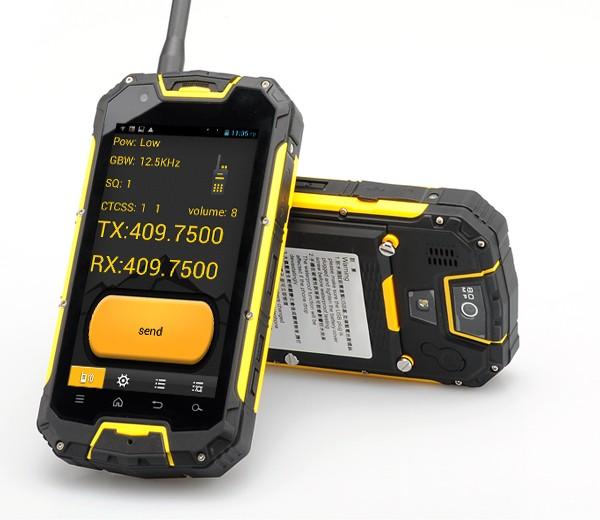 smartphone walkie talkie