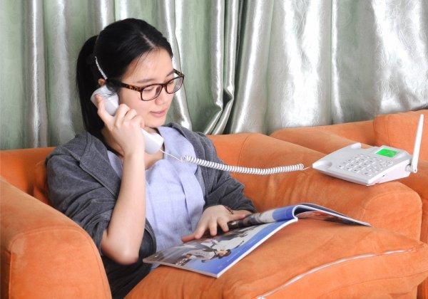wireless desk phone-example