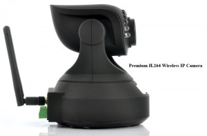 Wireless IP Camera with (Micro SD Card Recording