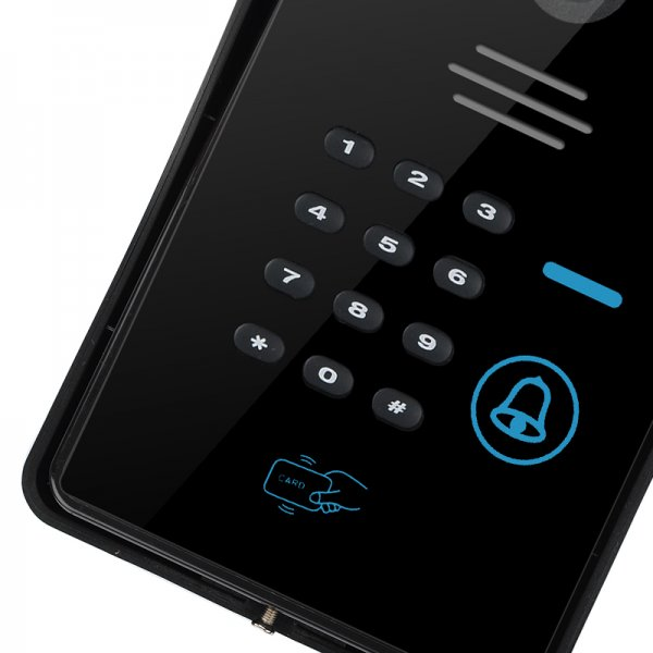 wi-fi video door phone-keyboard