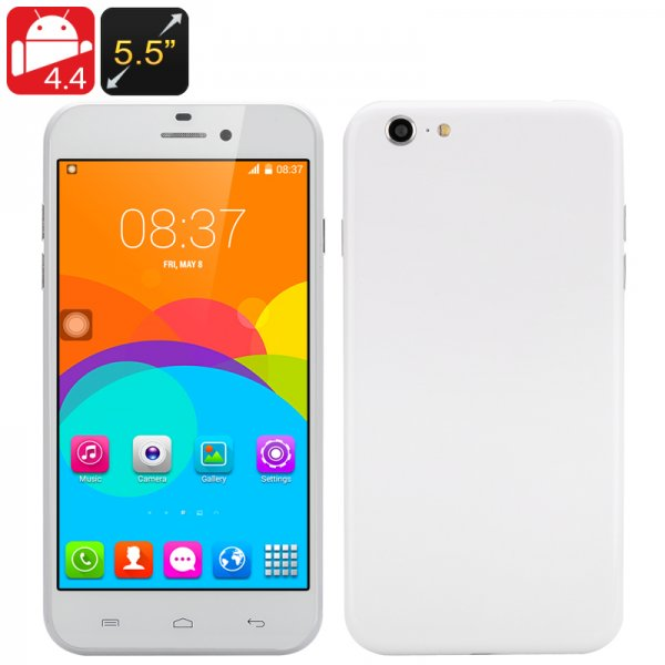 5.5 Inch Android 4.4 Dual Core CPU, Dual SIM, Android 4.4