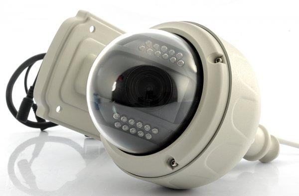Wireless IP Security Camera – HD 720p, PTZ, 3x Optical Zoom
