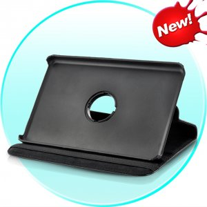 Kindle Fire Leather Case with 360 degree Swivel Stand