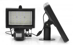 Solar Security LED Flood Light – Motion Detection