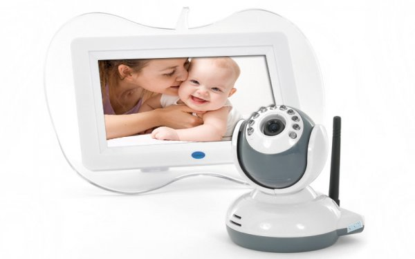 7 Inch 2.4GHz Digital Wireless Baby Monitor + Camera Set