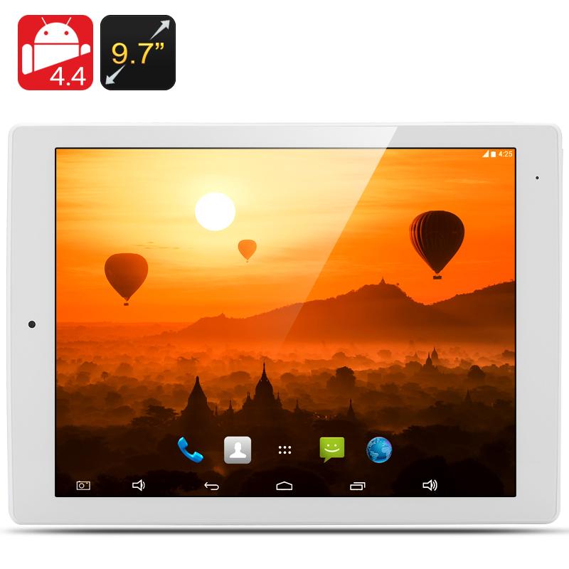 9 7 Inch Tablet PC - 2048x1576 Retina Screen, 2GB RAM, RK3288 Quad Core  CPU, 32GB Internal Memory (White)