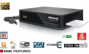 Amiko Mini HD SE Satellite Receiver