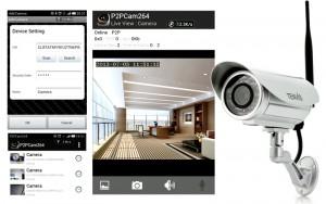 Tenvis CCTV Wireless IP Camera with 5x Digital Zoom