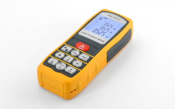 Ultrasonic laser Tape Measurer – 60 Meter Range, Waterproof