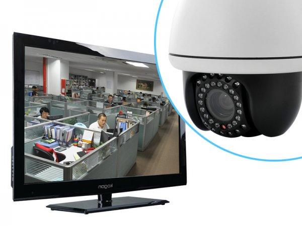 PTZ Speed Dome IP Security Camera