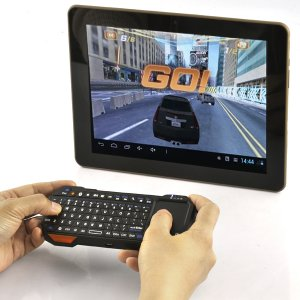 Mini Bluetooth QWERTY Keyboard – OS Optimized, Touch Mouse Pad
