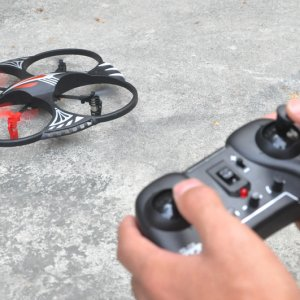 RC Quad Copter with 50 Meter Range, 2.4GHz, 4 Channels