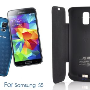 Samsung Galaxy S 5 External Battery Case with LED Display & 3500mAh Capacity