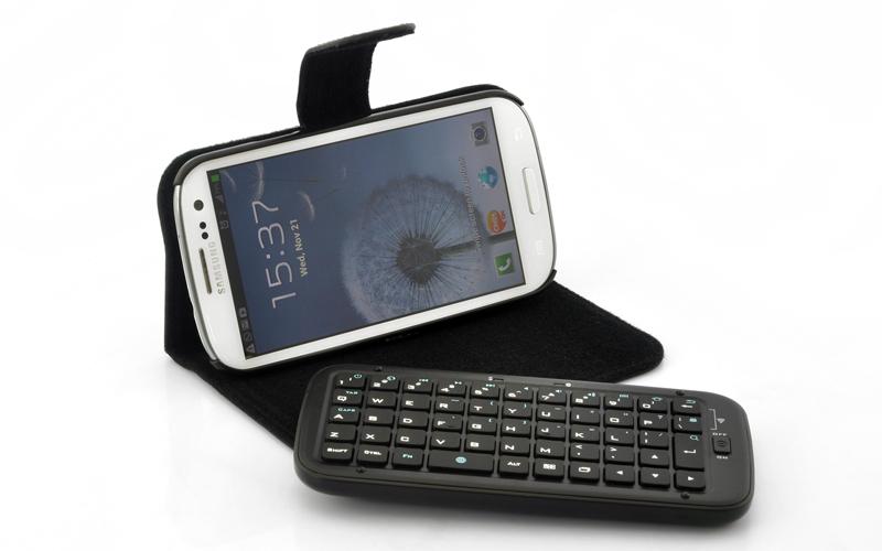 new styles 01b1b 5e2f7 Samsung Galaxy S3 Bluetooth Keyboard + Case