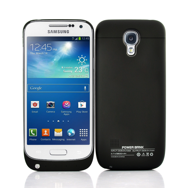 new arrivals 73d18 d2c96 Samsung Galaxy S4 Mini External Battery Case 2600mAh