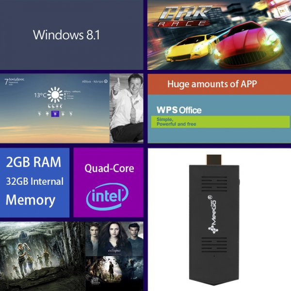 Windows 10 Mini PC Stick