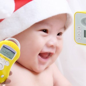 Two Way Audio Baby Monitor, Temperature Sensor
