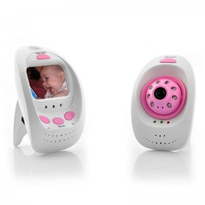 Wireless Digital Baby Monitor + Camera - 8 LED Lights, 5 Meter Night Vision Range
