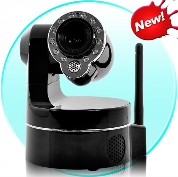 Wireless IP Security Camera – 3 x Optical Zoom