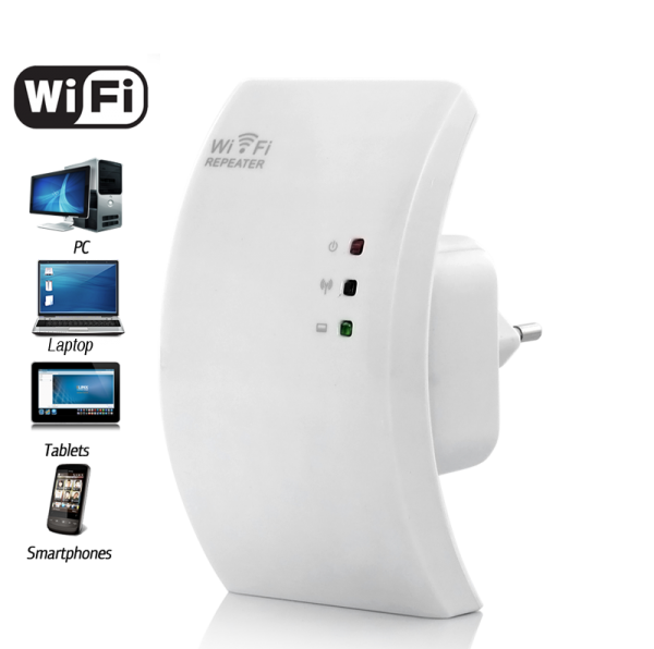 Wireless Signal Repeater and WiFi Access Point
