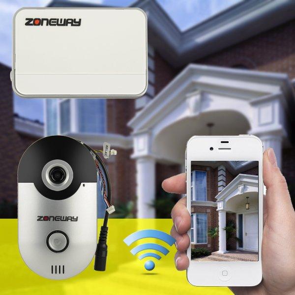 wireless video door bell intercom