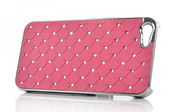 Case for iPhone 5 – Pink Rhinestone