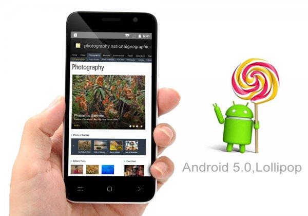 Android 5.0 Phone – Quad Core CPU