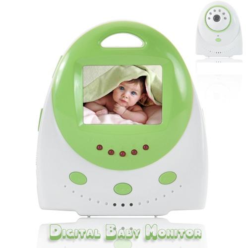 Baby Monitor – Two Way Audio, Temperature Alarm
