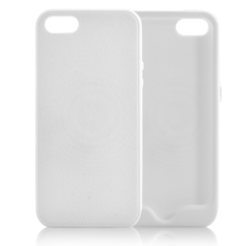 info for d153d b1d5e iPhone 5 Case (White) Soft Skin Rubber - CTS Systems