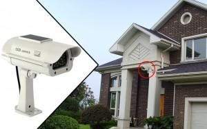 Realistic Solar Powered Dummy Camera
