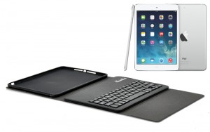 iPad Air Leather Case Detachable Keyboard