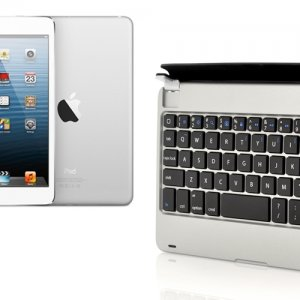 iPad Mini Bluetooth 3.0 Keyboard with Magnetic Slot