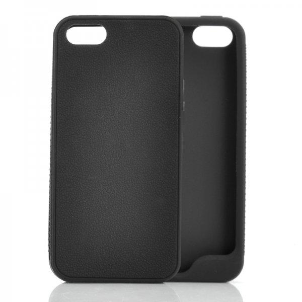 iPhone 5 Case (Black) – Soft Skin Rubber