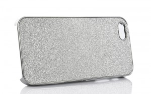 Case for iPhone 5 – Silver Glitter