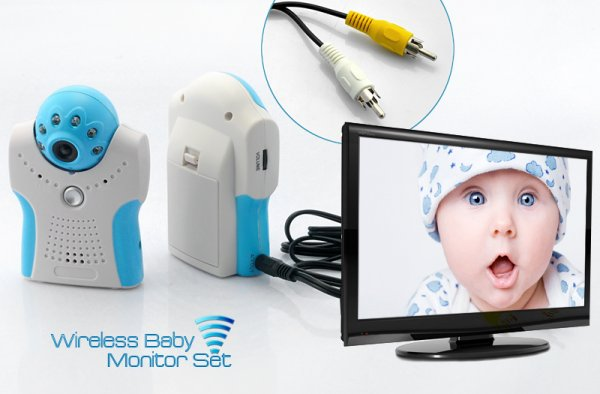 Wireless Baby Monitor Set