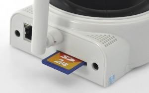 Wireless IP Security Camera Pan & Tilt
