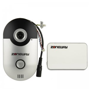 wireless video door bell and motion detection