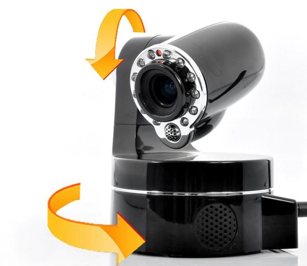 Wireless IP Security Camera – 3 x Optical Zoom