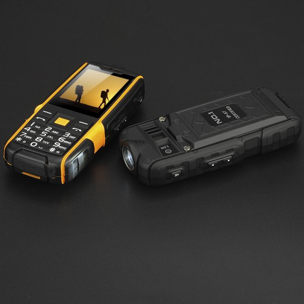 two mobile phones
