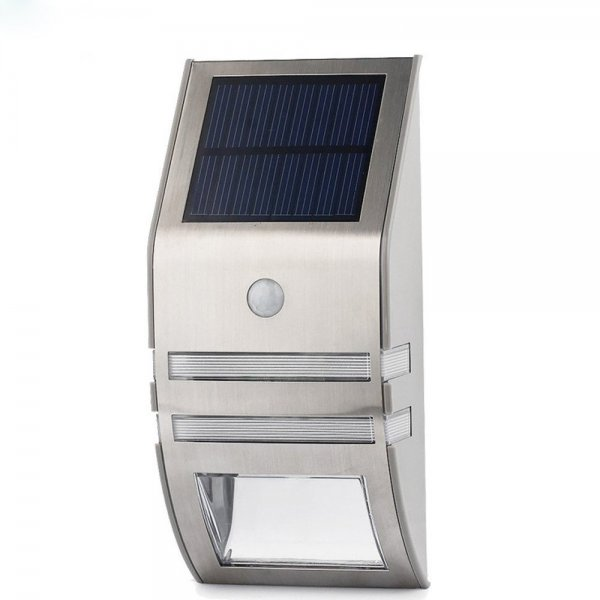 outdoor power solar led panel