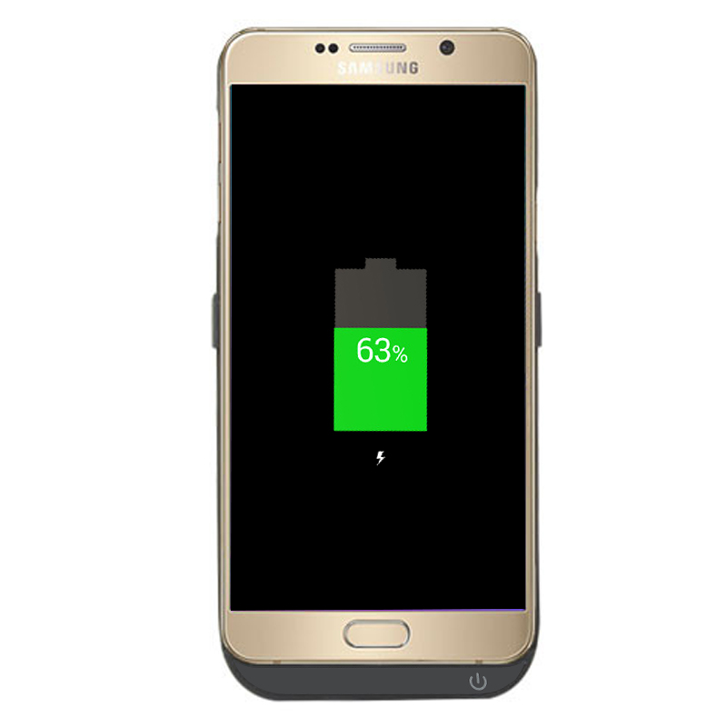 uk availability e29d1 b74f5 Samsung Galaxy Note 5 External Battery Casee with 5800mAh Capacity, 4 LED  Power Indicators