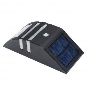 black solar panel motion detection