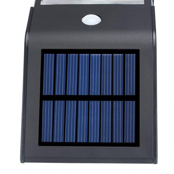black outdoor solar panel