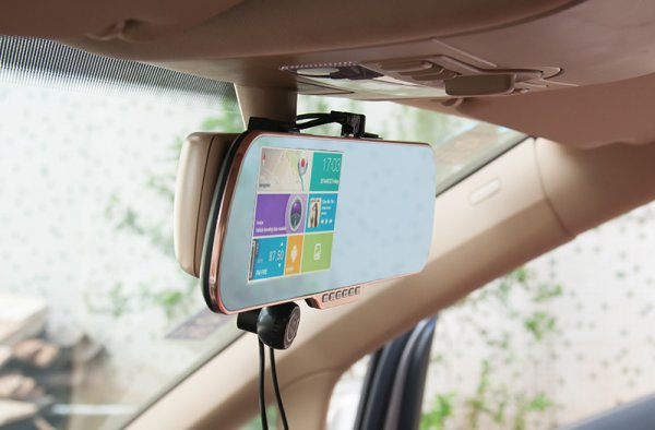 android rearview mirror
