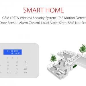 wireless security system kit